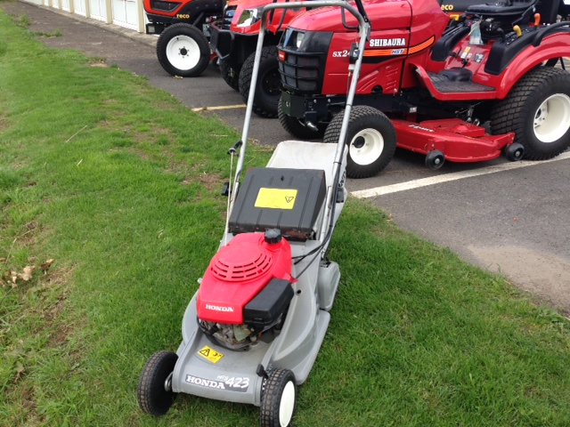 celtic mowers honda hrb 423 qxe now sold