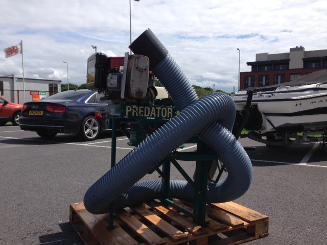 Predator Trailer Mounted Industrial Vacuum
