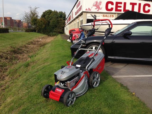 New In Al Ko 473vs 4 In 1 Petrol Lawn Mower