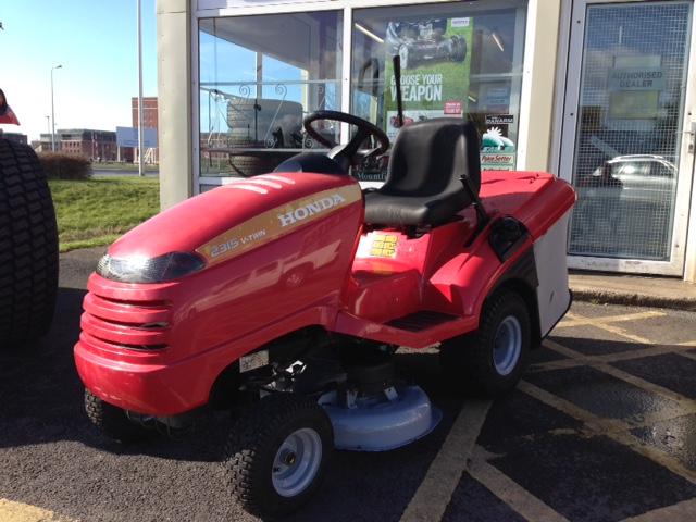 honda v twin 2315 lawn mower manual