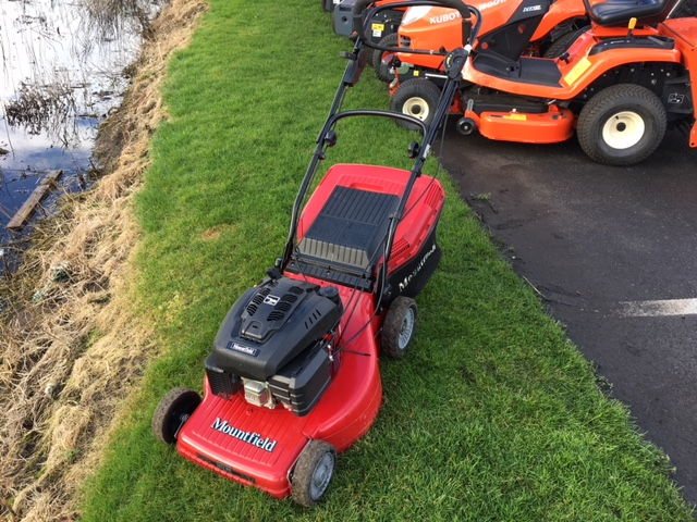 Used Second Hand Mountfield M64pd 4 Speed Lawnmower