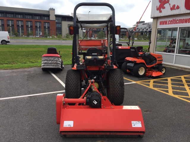 Second Hand Used Kubota B2400 Hst With Front Bucket Loader