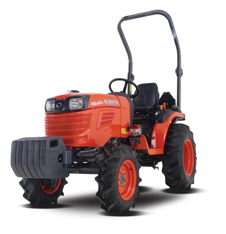Kubota Rear Work Light : Kubota b series tractors