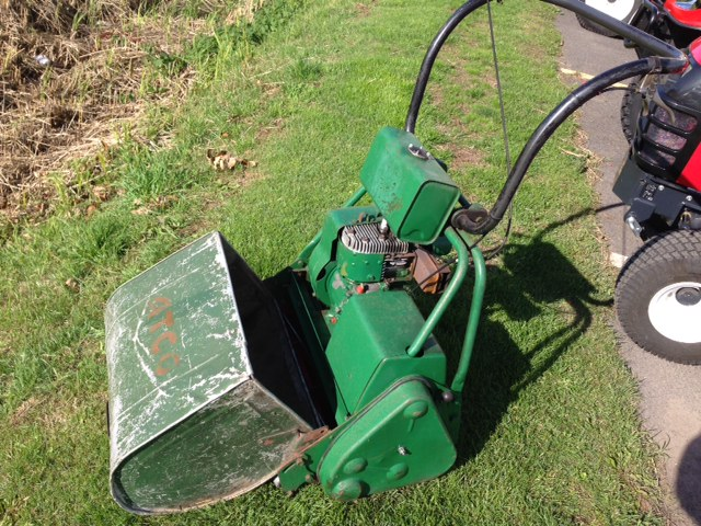 celtic mowers  sold atco  cylinder machine