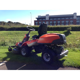 NOW SOLD - SECOND HAND - HUSQVARNA R316T - OUTFRONT RIDE ON MOWER - COMBI 103