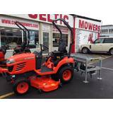 KUBOTA BX2350 WITH AR5 SLITTER / AERATOR ATTACHMENT