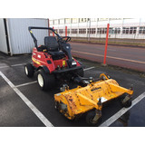 SHIBAURA CM374 WITH OUTFRONT 1.4M MUTHING FLAIL MOWER