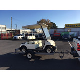 NOW SOLD - USED / SECOND HAND YAMAHA GOLF BUGGY AND ROAD GOING TRAILER