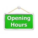 2021 CURRENT OPENING TIMES